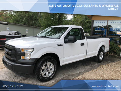 2016 Ford F-150 for sale at Elite Automotive Consultants & Wholesale Direct in Tallahassee FL