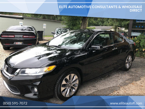 2015 Honda Accord for sale at Elite Automotive Consultants & Wholesale Direct in Tallahassee FL