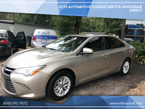 2017 Toyota Camry for sale at Elite Automotive Consultants & Wholesale Direct in Tallahassee FL