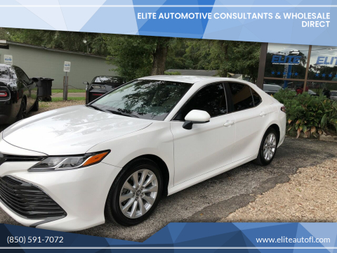 2018 Toyota Camry for sale at Elite Automotive Consultants & Wholesale Direct in Tallahassee FL