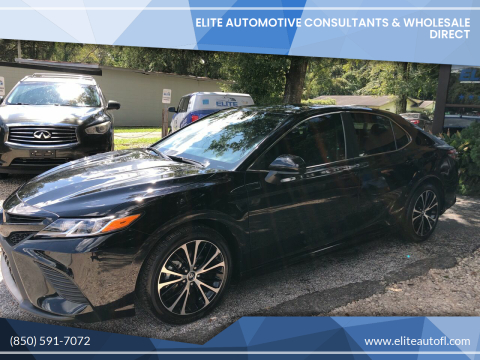 2019 Toyota Camry for sale at Elite Automotive Consultants & Wholesale Direct in Tallahassee FL