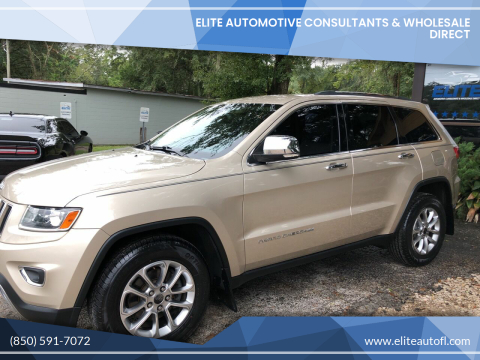 2014 Jeep Grand Cherokee for sale at Elite Automotive Consultants & Wholesale Direct in Tallahassee FL