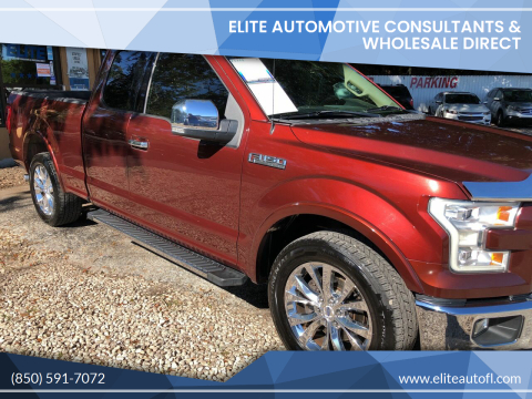 2015 Ford F-150 for sale at Elite Automotive Consultants & Wholesale Direct in Tallahassee FL