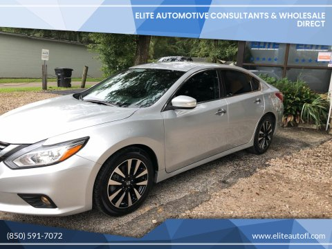 2018 Nissan Altima for sale at Elite Automotive Consultants & Wholesale Direct in Tallahassee FL
