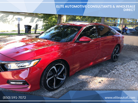 2018 Honda Accord for sale at Elite Automotive Consultants & Wholesale Direct in Tallahassee FL