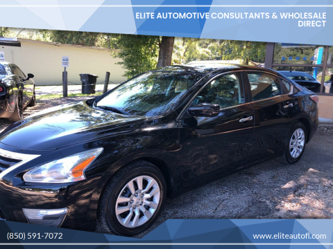 2015 Nissan Altima for sale at Elite Automotive Consultants & Wholesale Direct in Tallahassee FL