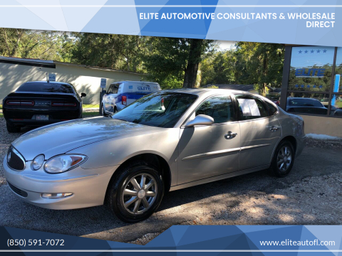 2007 Buick LaCrosse for sale at Elite Automotive Consultants & Wholesale Direct in Tallahassee FL