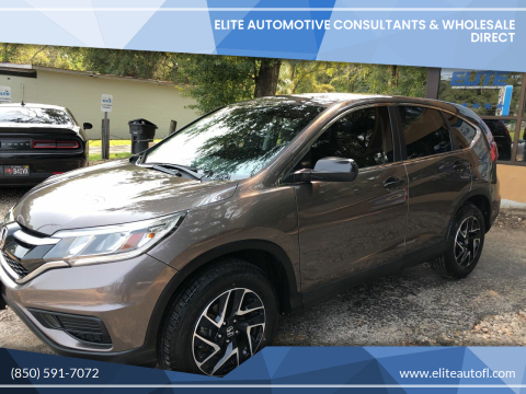 2016 Honda CR-V for sale at Elite Automotive Consultants & Wholesale Direct in Tallahassee FL