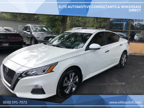 2020 Nissan Altima for sale at Elite Automotive Consultants & Wholesale Direct in Tallahassee FL