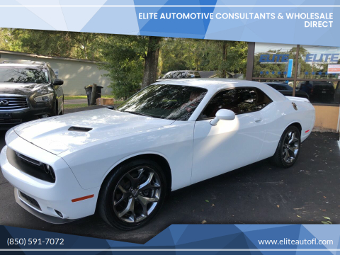 2016 Dodge Challenger for sale at Elite Automotive Consultants & Wholesale Direct in Tallahassee FL