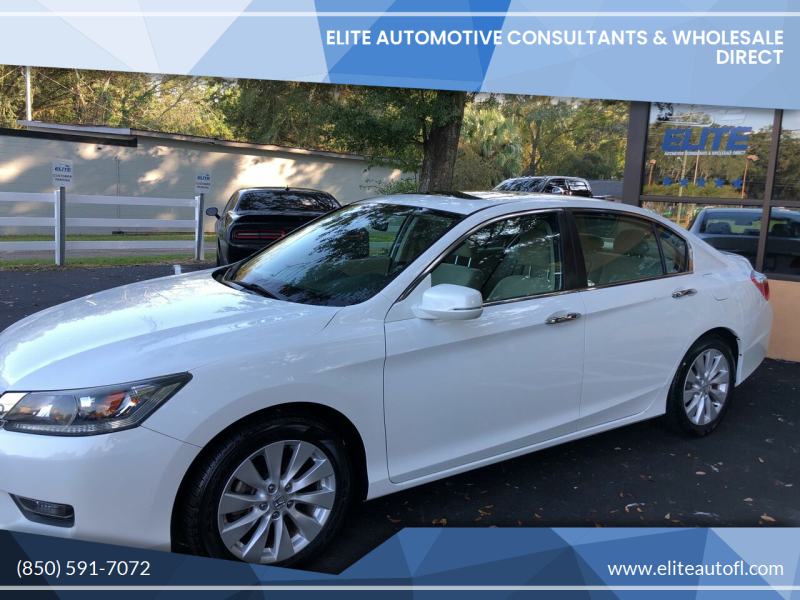2014 Honda Accord for sale at Elite Automotive Consultants & Wholesale Direct in Tallahassee FL