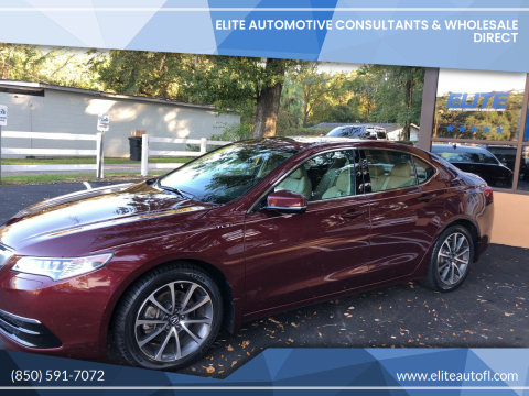2016 Acura TLX for sale at Elite Automotive Consultants & Wholesale Direct in Tallahassee FL