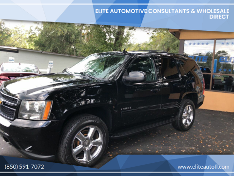 2012 Chevrolet Tahoe for sale at Elite Automotive Consultants & Wholesale Direct in Tallahassee FL