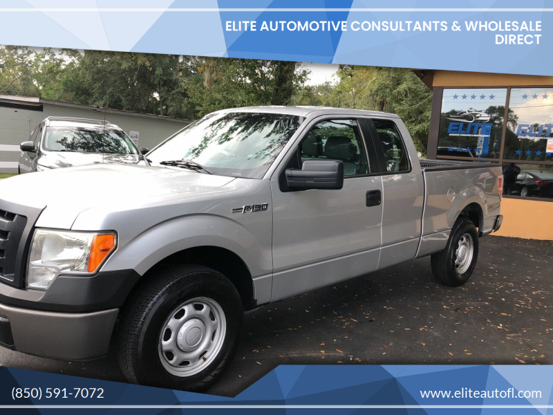 2011 Ford F-150 for sale at Elite Automotive Consultants & Wholesale Direct in Tallahassee FL