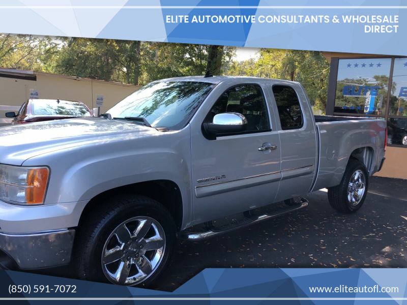 2012 GMC Sierra 1500 for sale at Elite Automotive Consultants & Wholesale Direct in Tallahassee FL