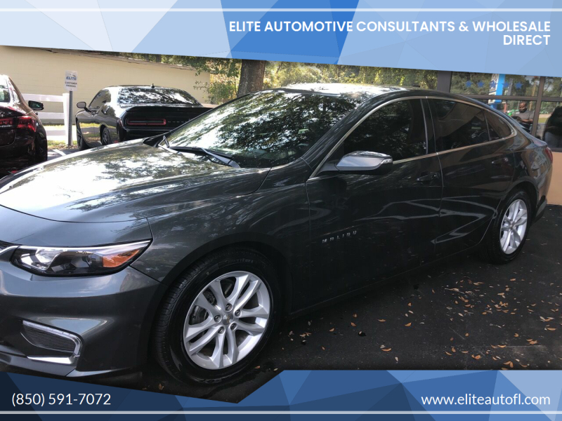 2017 Chevrolet Malibu for sale at Elite Automotive Consultants & Wholesale Direct in Tallahassee FL