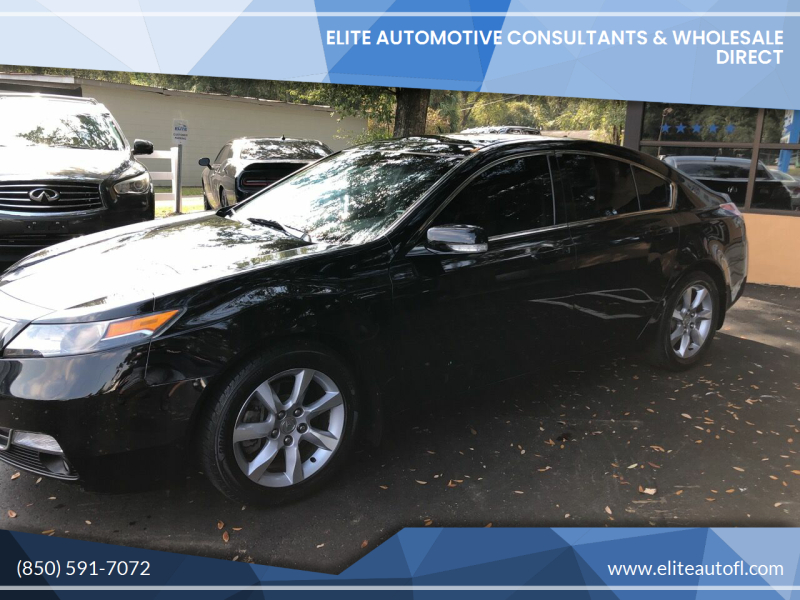 2012 Acura TL for sale at Elite Automotive Consultants & Wholesale Direct in Tallahassee FL