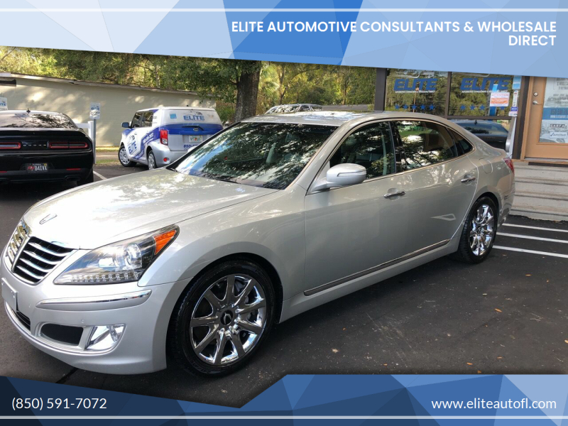 2013 Hyundai Equus for sale at Elite Automotive Consultants & Wholesale Direct in Tallahassee FL
