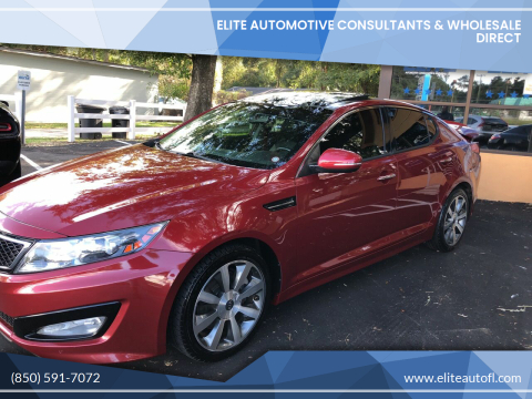 2012 Kia Optima for sale at Elite Automotive Consultants & Wholesale Direct in Tallahassee FL