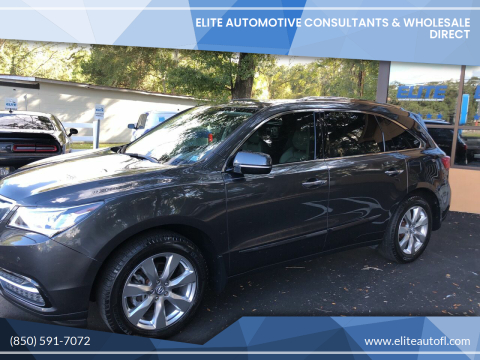 2014 Acura MDX for sale at Elite Automotive Consultants & Wholesale Direct in Tallahassee FL