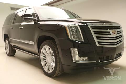 2017 Cadillac Escalade ESV for sale in Vernon, TX