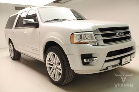 2017 Ford Expedition EL for sale in Vernon, TX