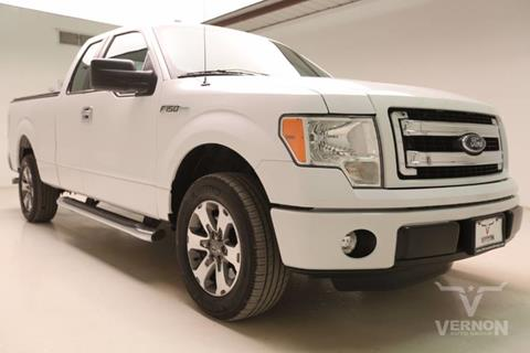 2014 Ford F-150 for sale in Vernon, TX