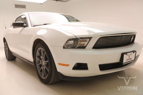 2011 Ford Mustang for sale in Vernon, TX