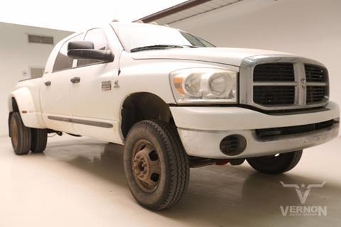 2007 Dodge Ram Pickup 3500 for sale in Vernon, TX