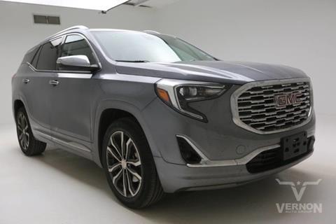 2018 GMC Terrain for sale in Vernon, TX