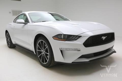 2019 Ford Mustang for sale in Vernon, TX