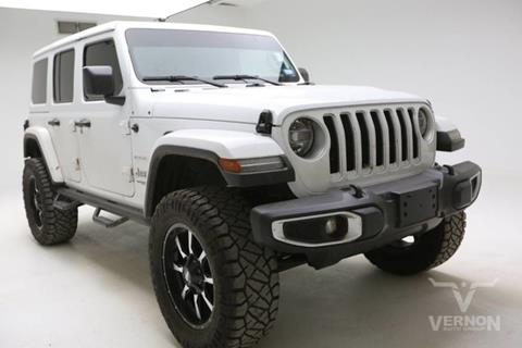 2019 Jeep Wrangler Unlimited for sale in Vernon, TX