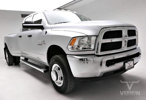 2018 RAM Ram Pickup 3500 for sale in Vernon, TX