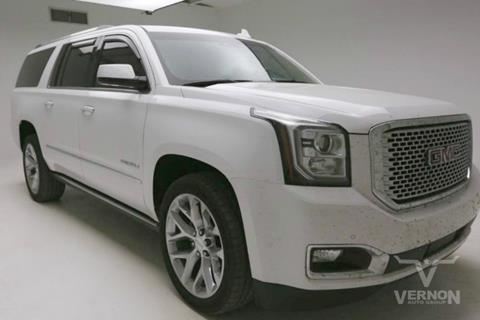 2017 GMC Yukon XL for sale in Vernon, TX