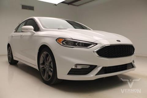 2017 Ford Fusion for sale in Vernon, TX