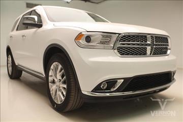 2017 Dodge Durango for sale in Vernon, TX