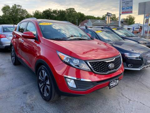 2013 Kia Sportage for sale at WOLF'S ELITE AUTOS in Wilmington DE