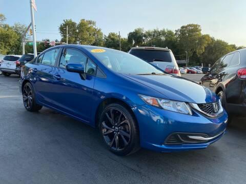 2014 Honda Civic for sale at WOLF'S ELITE AUTOS in Wilmington DE