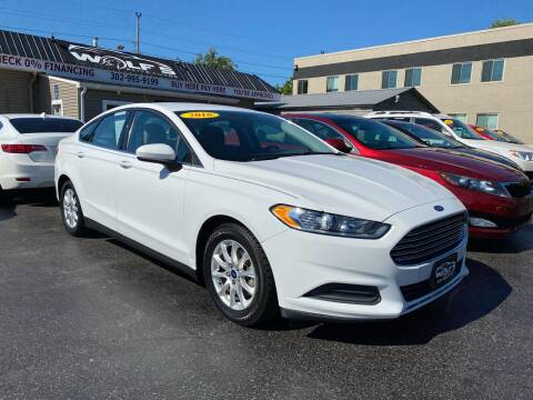 2016 Ford Fusion for sale at WOLF'S ELITE AUTOS in Wilmington DE