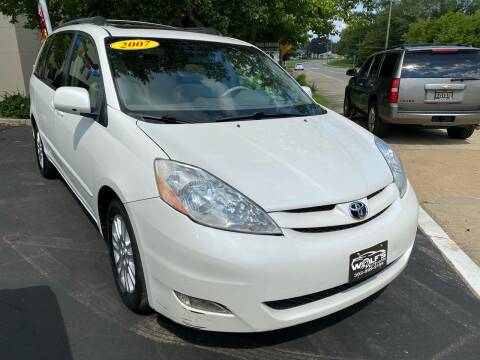 2007 Toyota Sienna for sale at WOLF'S ELITE AUTOS in Wilmington DE