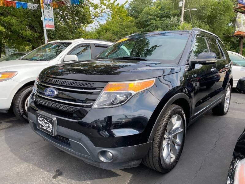 2012 Ford Explorer for sale at WOLF'S ELITE AUTOS in Wilmington DE