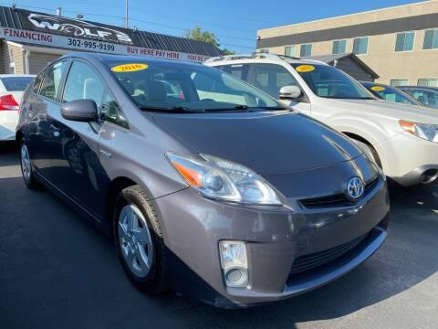 2010 Toyota Prius for sale at WOLF'S ELITE AUTOS in Wilmington DE