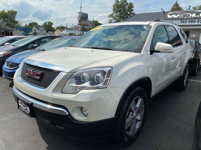 2012 GMC Acadia for sale at WOLF'S ELITE AUTOS in Wilmington DE