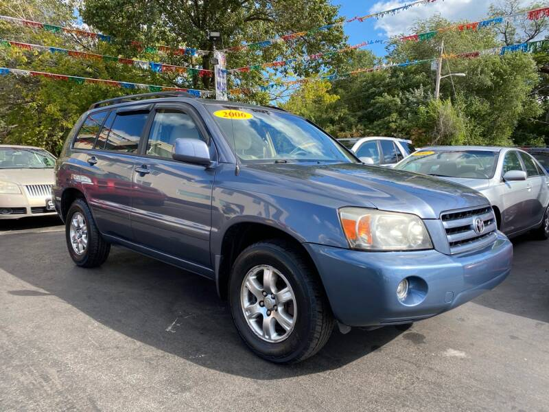 2006 Toyota Highlander for sale at WOLF'S ELITE AUTOS in Wilmington DE
