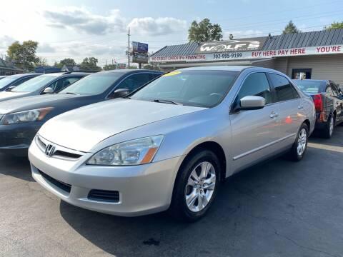 2007 Honda Accord for sale at WOLF'S ELITE AUTOS in Wilmington DE