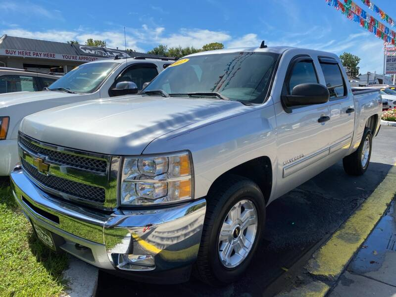 2012 Chevrolet Silverado 1500 for sale at WOLF'S ELITE AUTOS in Wilmington DE