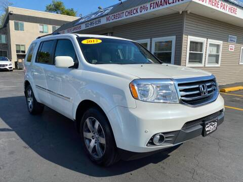 2012 Honda Pilot for sale at WOLF'S ELITE AUTOS in Wilmington DE