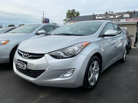 2013 Hyundai Elantra for sale at WOLF'S ELITE AUTOS in Wilmington DE