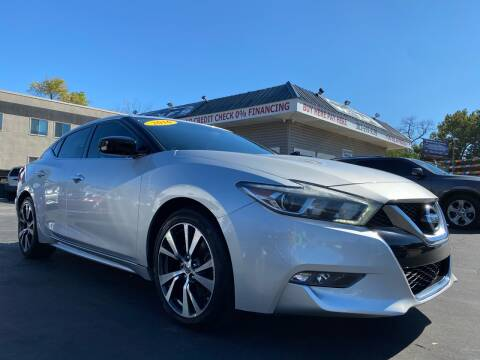 2016 Nissan Maxima for sale at WOLF'S ELITE AUTOS in Wilmington DE