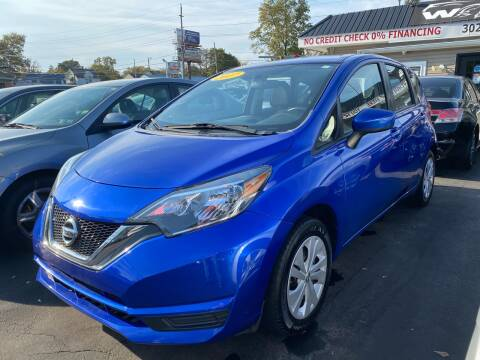 2017 Nissan Versa Note for sale at WOLF'S ELITE AUTOS in Wilmington DE